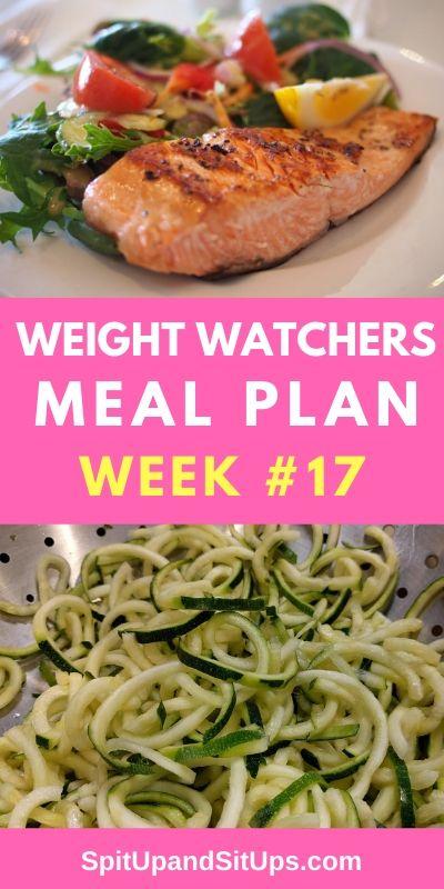 weight watchers meal plan #17