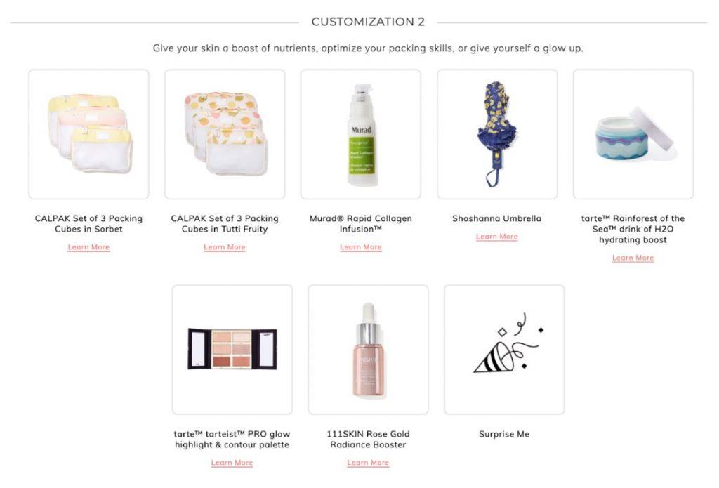 fabfitfun spring 2020 box spoilers plus discount code customization 2