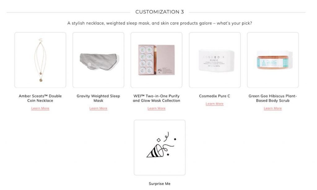 fabfitfun spring 2020 box spoilers plus discount code customization 3