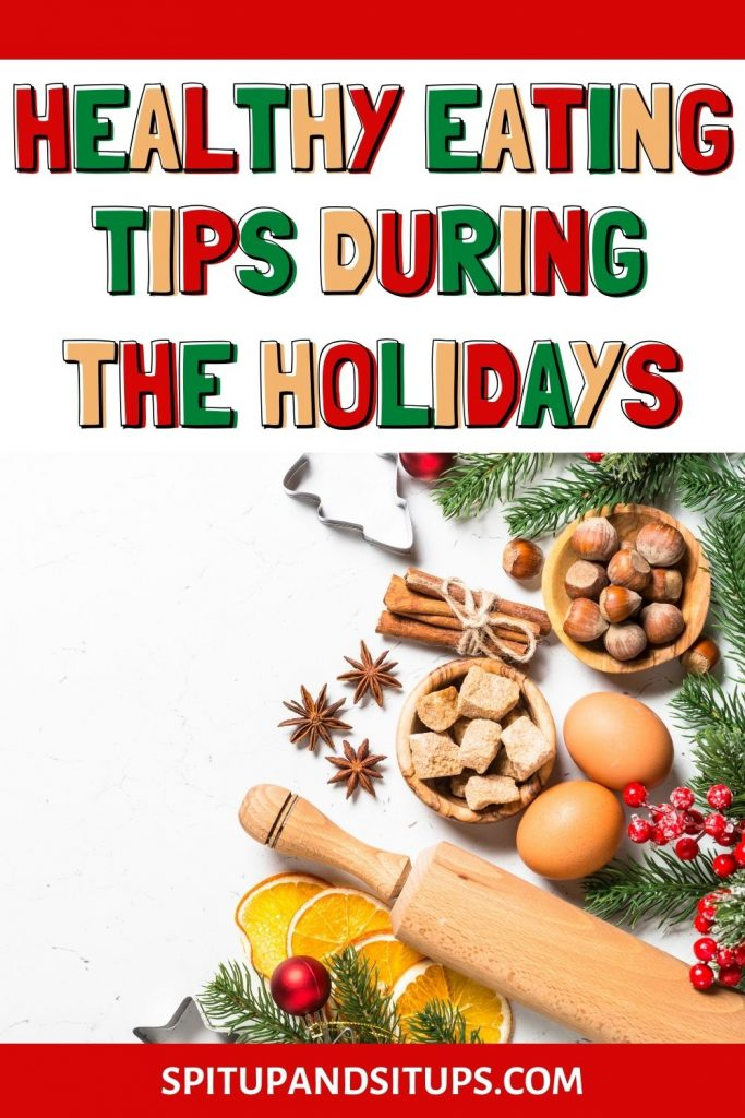 healthy eating tips during the holidays