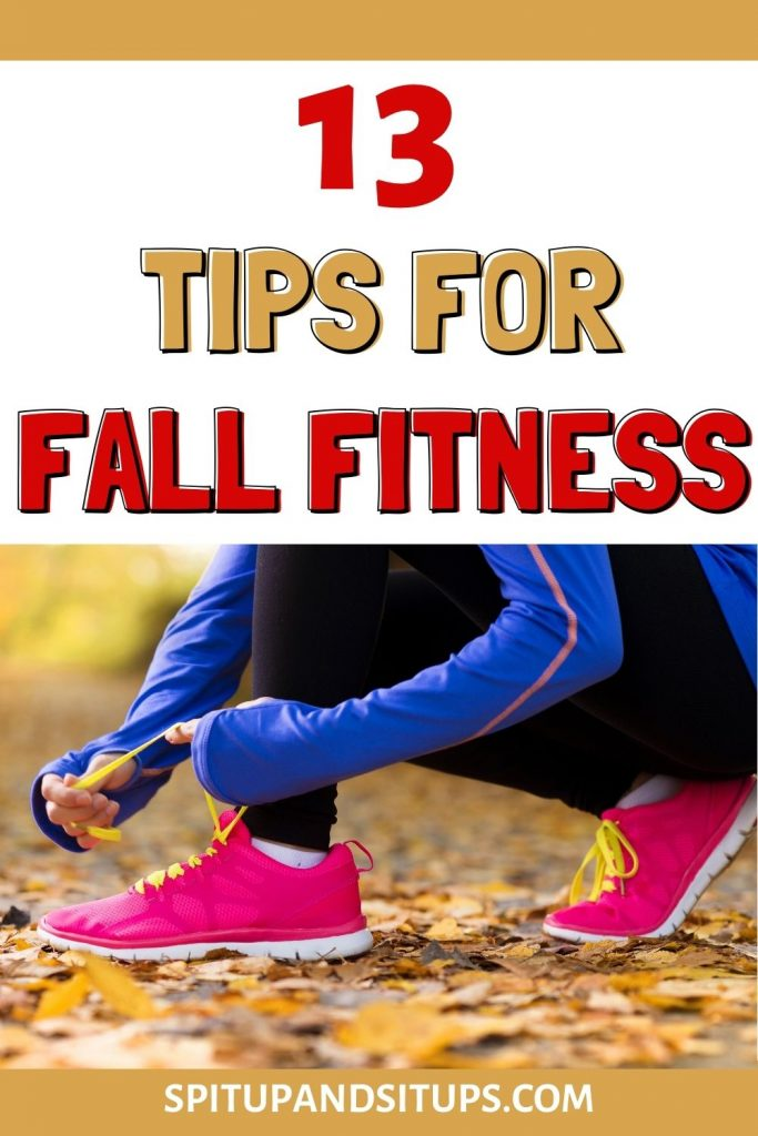13 tips for fall fitness pinterest image