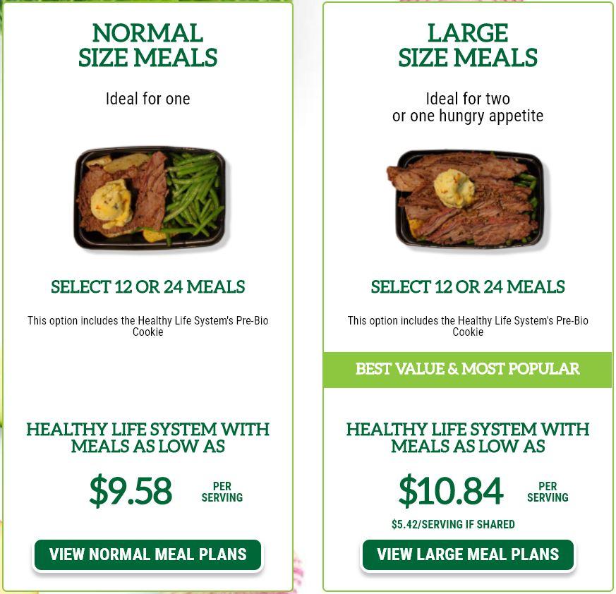 doorstep meals pricing