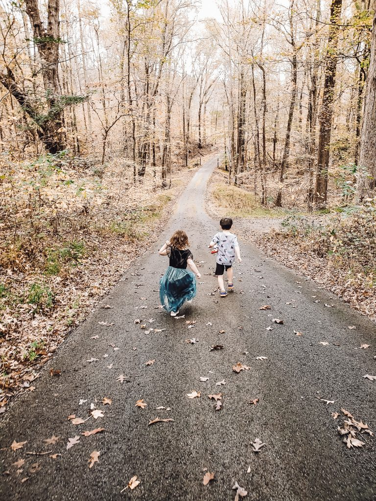 How to Improve Your Credit with CreditRepair.com kids running down driveway